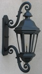 LeBeau Aluminum Gas Light, Wall Mount-Electric