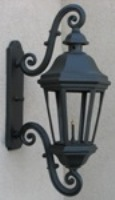 LeBeau Grande Aluminum Gas Light, Wall Mount-Gas