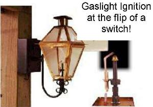 Electronic Ignition for Open Flame Gas Lights