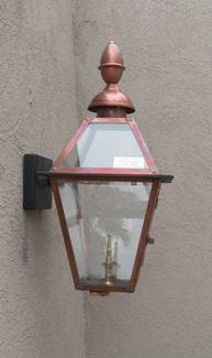 "GL22CT Regency Beaumont II Model Gaslight, Includes Wall Mount! 31"" x 12"""