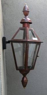 "GL23CTCB Regency Rue Barrett Model Gaslight, Includes Wall Mount! 37"" x 16"""